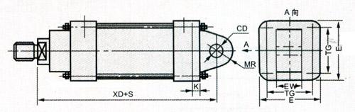 jb系列冶金气缸图片